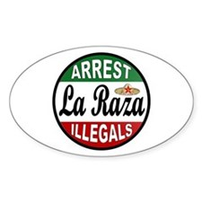 DEPORT ILLEGALS Decal