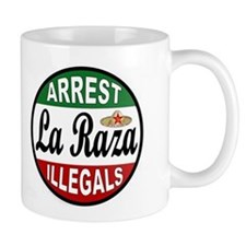 DEPORT ILLEGALS Small Mug