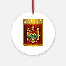 """""""Moldova Gold"""" Ornament (Round)"""