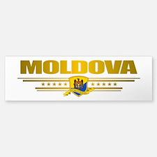 """""""Moldova Gold"""" Bumper Bumper Sticker"""