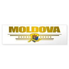 """""""Moldova Gold"""" Bumper Sticker"""