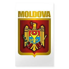 """Moldova Gold"" Decal"