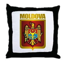 """""""Moldova Gold"""" Throw Pillow"""
