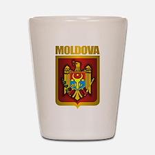 """""""Moldova Gold"""" Shot Glass"""