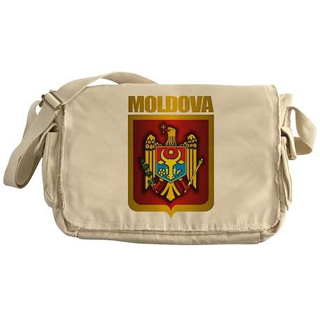 """Moldova Gold"" Messenger Bag"