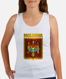 """Moldova Gold"" Women's Tank Top"