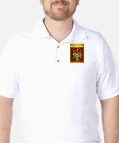 """Moldova Gold"" Golf Shirt"