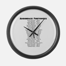 Adirondack Firetowers Large Wall Clock