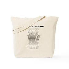 Adirondack Firetowers Tote Bag