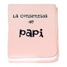 Cute Espanol baby blanket