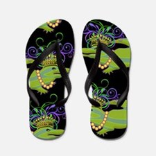 Royalty Gator Flip Flops