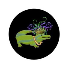 "Royalty Gator 3.5"" Button"