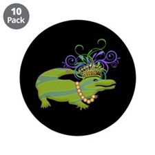 """Royalty Gator 3.5"""" Button (10 pack)"""