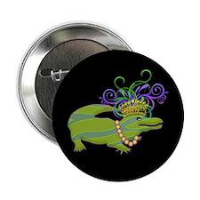 "Royalty Gator 2.25"" Button"