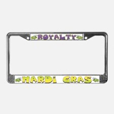 Royalty Gator License Plate Frame