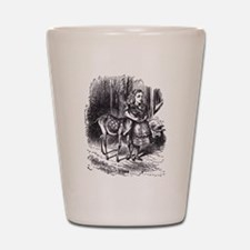 Alice and the Fawn Shot Glass