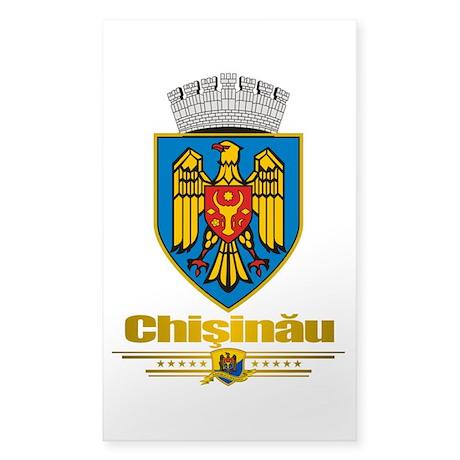 Chisinau Sticker (Rectangle)