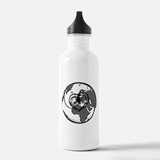 Coffee themed Water Bottle