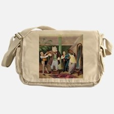 Roosevelt Bears at the Tailors Messenger Bag