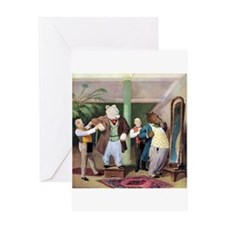 Roosevelt Bears at the Tailors Greeting Card