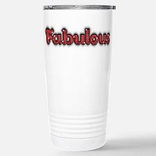 Fabulous Stainless Steel Travel Mug