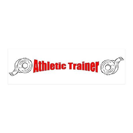 Athletic Trainer 21x7 Wall Peel