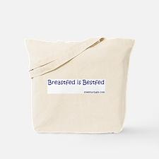 breastfed is bestfed Tote Bag