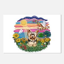 AutumnSun/Yorkie #17 Postcards (Package of 8)