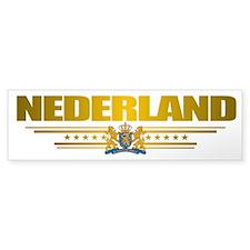 """""""Netherlands Gold"""" Bumper Sticker"""