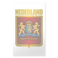 """Netherlands Gold"" Decal"