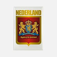 """""""Netherlands Gold"""" Rectangle Magnet"""
