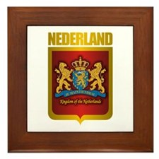 """Netherlands Gold"" Framed Tile"