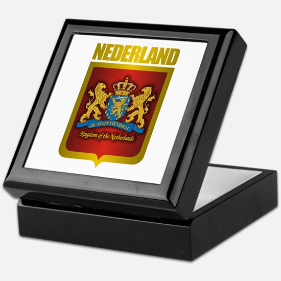 """Netherlands Gold"" Keepsake Box"