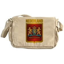 """Netherlands Gold"" Messenger Bag"