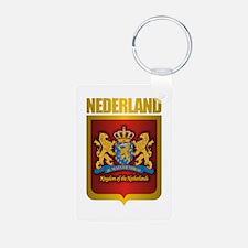 """""""Netherlands Gold"""" Keychains"""