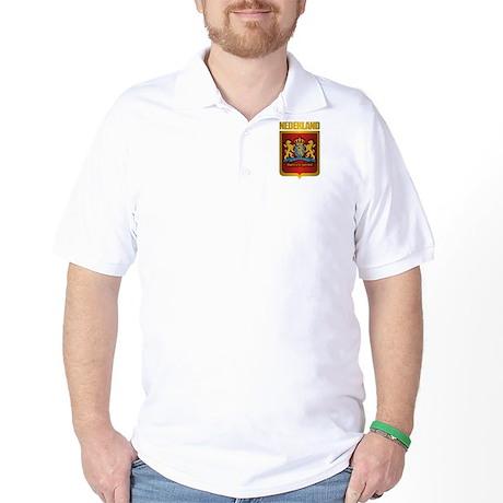 """""""Netherlands Gold"""" Golf Shirt"""