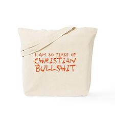 Christian Bullshit Tote Bag