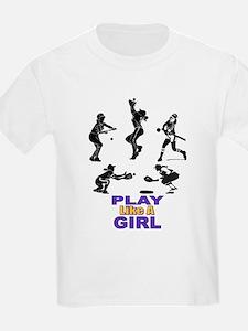 SOFTBALL LIKE A GIRL T-Shirt