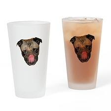 Chewie Pug Drinking Glass