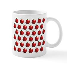Red Apple Fruit Pattern Mug