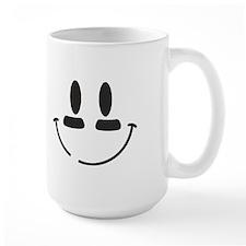 Football Smiley Mug