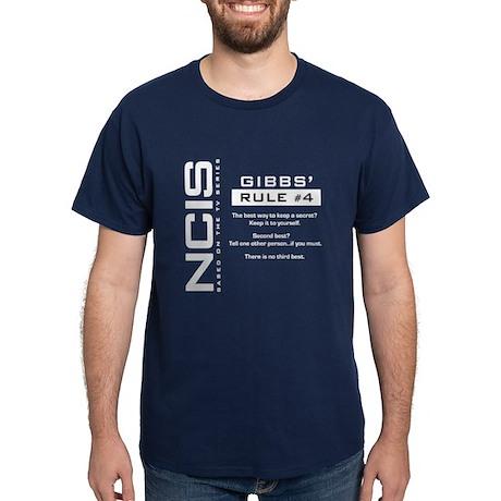 NCIS Gibbs' Rule #4 Dark T-Shirt