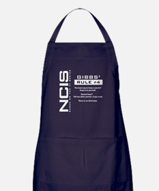 NCIS Gibbs' Rule #4 Apron (dark)
