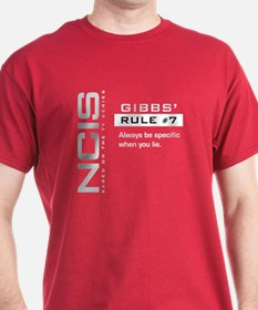 NCIS Gibbs' Rule #7 T-Shirt