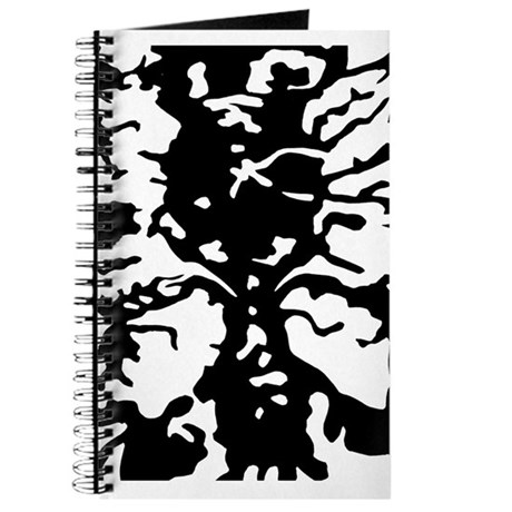 Abstract Black & White Journal