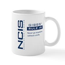 NCIS Gibbs' Rule #9 Small Mugs