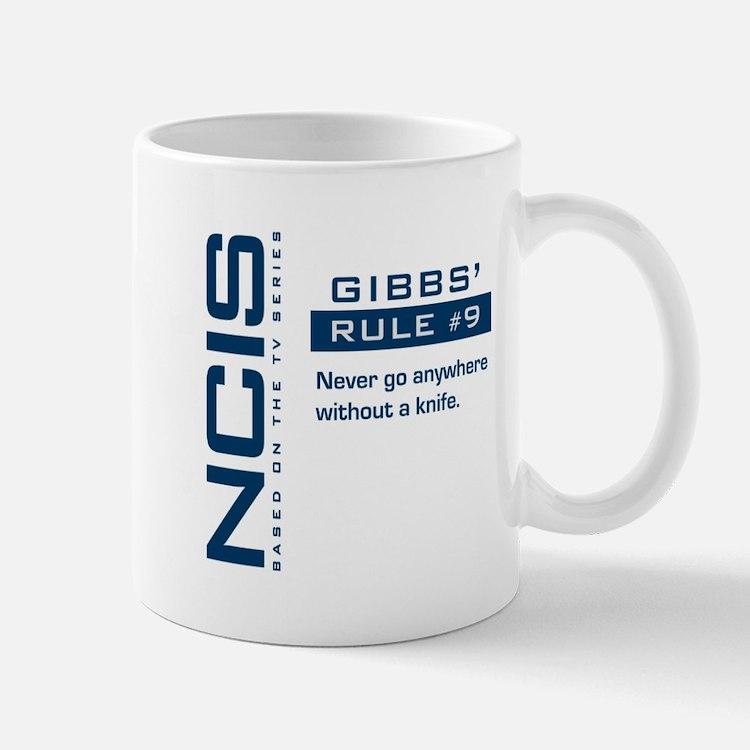 NCIS Gibbs' Rule #9 Small Small Mug
