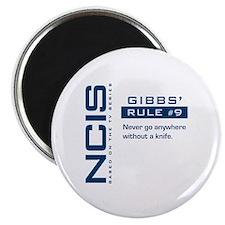 NCIS Gibbs' Rule #9 Magnet
