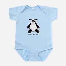 Peace Love Baa Lamb Infant Bodysuit