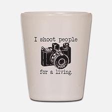I Shoot People - Shot Glass